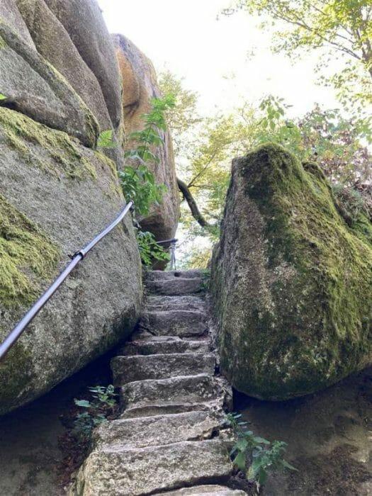 Wanderung rund um den Großen Waldstein in Franken / Bayern