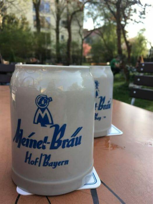 Biergarten Meinels Bas in Hof
