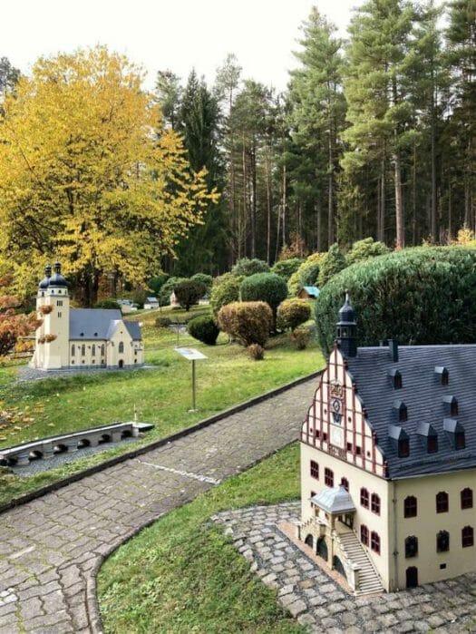 Miniaturanlage Klein-Vogtland in Adorf / Sachsen